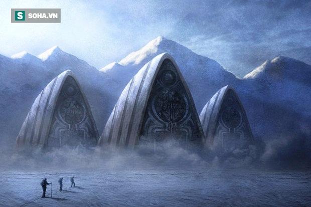 'Phát hiện cầu thang khổng lồ ở Nam Cực: Nghi vấn căn cứ lạ của người ngoài hành tinh