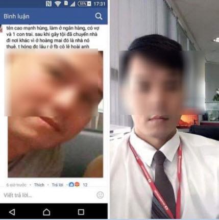 Ảnh kẻ xâm hại tình dục bé gái 8 tuổi ở Hà Nội bị phát tán khắp Facebook