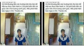 'Hà Nội: Một thanh niên lạ lẻn vào khu WC trường tiểu học, sàm sỡ học sinh