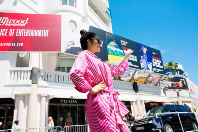 Xôn xao về hình ảnh Lý Nhã Kỳ trên pano quảng bá tại LHP Cannes