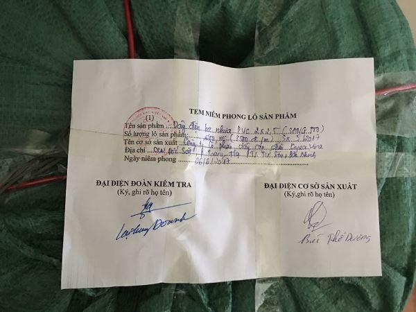Bắc Ninh: Một công ty bị phạt vì sản xuất dây điện không đảm bảo chất lượng