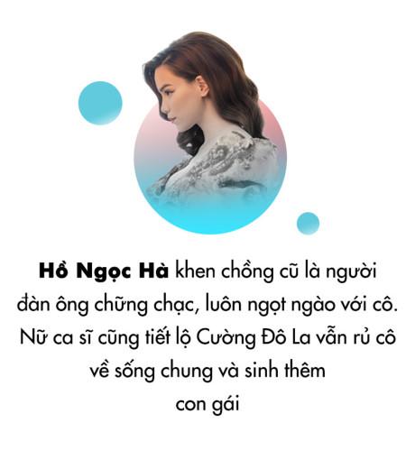 Hồ Ngọc Hà: 'Cường Đô La rủ tôi về sống chung, cho Subeo có em gái'