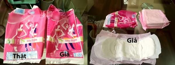 Đừng thiếu hiểu biết mà mua nhầm băng vệ sinh giả gây ung thư và vô sinh cao