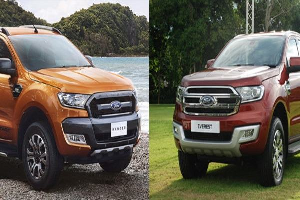Vì sao hơn 100 ô tô Ford Ranger và Ford Everest tại Việt Nam bị triệu hồi?