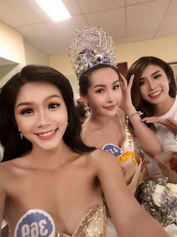 Thí sinh Hoa hậu Đại dương nói gì về việc