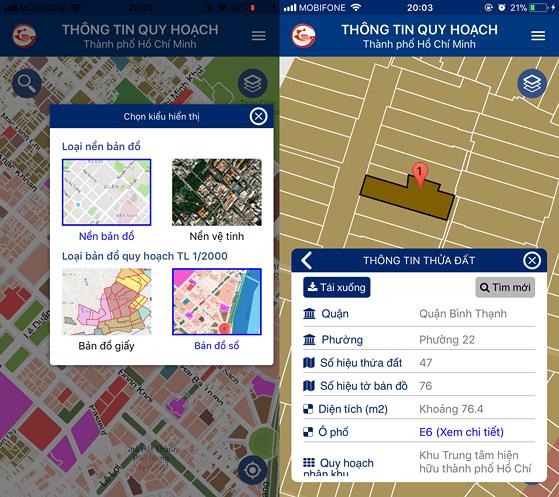 Cách tra cứu thông tin nhà đất bằng smartphone